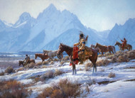 Apsaalooke Horse Hunters by Martin Grelle