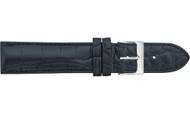 Genuine Louisiana Alligator Semi-Padded and Stitched Matte Watch Strap