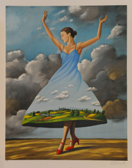 Texture of Casual Desire by Rafal Olbinski