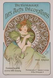 Alphonse Mucha Dictionnaire des Arts Decoratifs