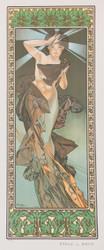 Alphonse Mucha Etoile du Matin (The Morning Star)
