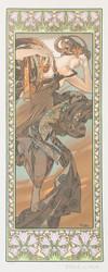 Alphonse Mucha Etoile du Soir (Evening Star)