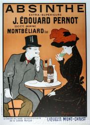 Absinine J Edourad Pernot Poster Fine Art Lithograph