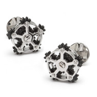 Rotating Gear Cufflinks