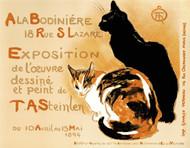 A La Bodiniere Poster Fine Art Lithograph