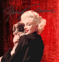 Marilyn Monroe Dogs Don't Me Fine Art Lithograph