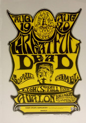 Frankenstein Grateful Dead Lithograph by Stanley Mouse and Alton Kelley