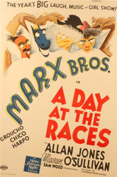 A Day at the Races 1937 Movie Poster Lithograph