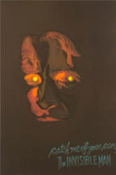The Invisible Man 1933 Advance Movie Poster Lithograph