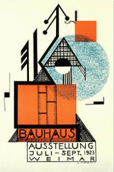 Bauhaus Ausstellung Weimar  Lithograph