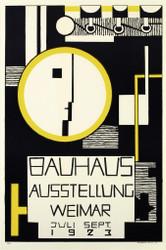 Basuhaus Ausstellung Lithograph
