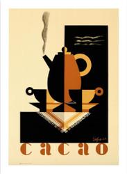 Cacao Lithograph