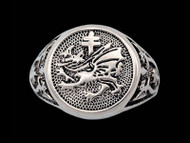 Vlad Dracula's Order of the Dragon Signet Ring