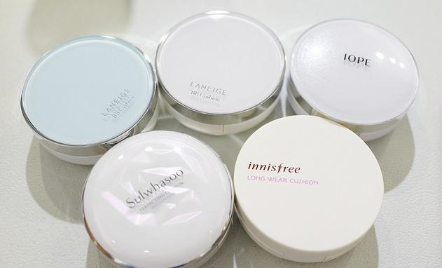 Strawberrycoco Beauty Lab Korean Air Cushion Comparison Review