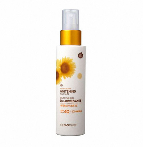 THE FACE SHOP Natural Sun Eco Whitening Mist Sun SPF40 PA+++ 120ml