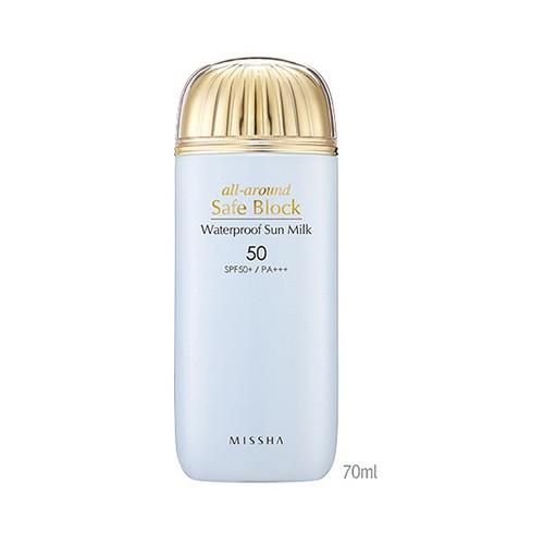 Missha All Around Safe Block WaterProof Sun Milk - 70ml (SPF50+ PA+++)