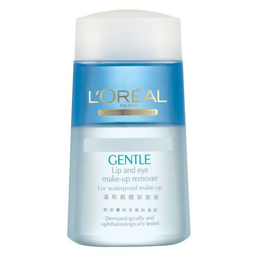 L'OREAL PARIS Dermo-Expertise Gentle Lip and Eye Make-Up Remover 125m - Strawberrycoco