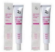 Shiseido ZA True White Day Protector Sunscreen Daytime Moisturizer SPF26+ PA++ 2 pcs