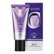 L'egere 2 in 1 Dual Aqua Soothing Essence-in CC Cream and All Cover Concealer