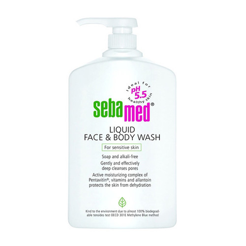 Seba med Liquid Face & Body Wash 1000ml