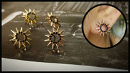 Tiny Spikes Earrings
