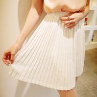 Elegant Fold Chiffon Skirt