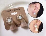 Classic Style Tassel Earrings