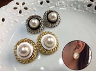 Simple Pearl Studs Earrings