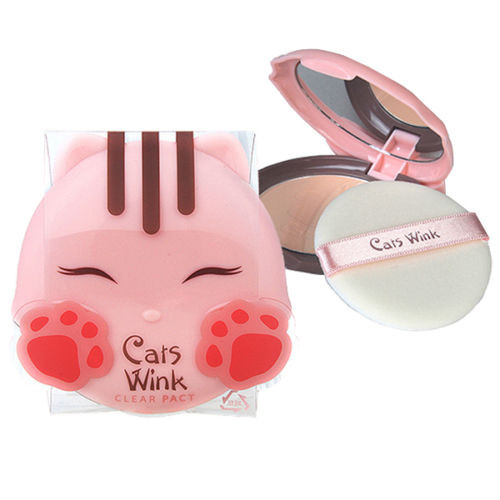 TONYMOLY Cats Wink Clear Pact 2 Colors 11g