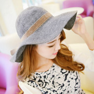 French Romantic Round Hat