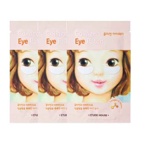 Etude House Collagen Eye Patch 3pcs