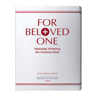 For Beloved One Melasleep Whitening Bio-Cellulose Mask 3pcs