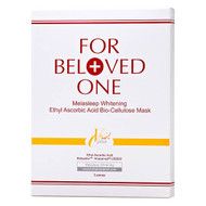 For Beloved One Melasleep Whitening Ethyl Ascorbic Acid Bio-Cellulose Mask 3 Pcs