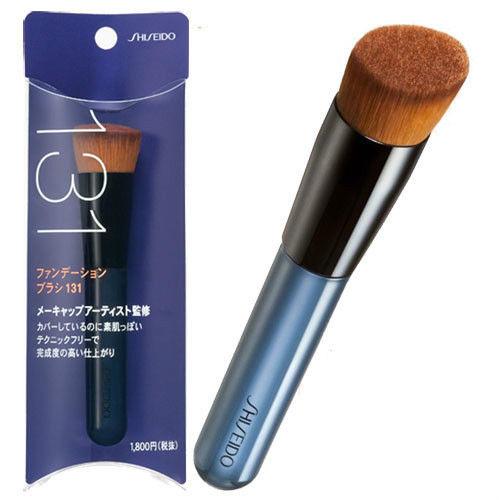 Shiseido Japan Perfect Foundation Angled Slant Makeup Brush 131