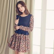 Floral Waisted Dress