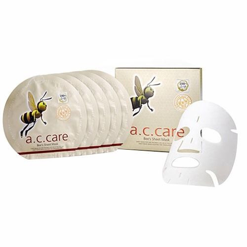 A.C. Care Bee's Sheet Mask 5EA for Acne Treatment