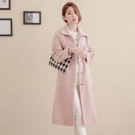 Rabbit Plush Long Coat