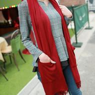 Wool Shawl Style Scarf
