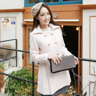 Gold Buckle Wool Coat
