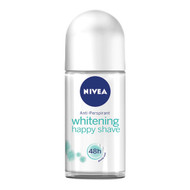 Nivea Whitening Happy Shave Deodorant Anti-Perspirant 48h 50ml