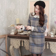 Lady Plaid Dress