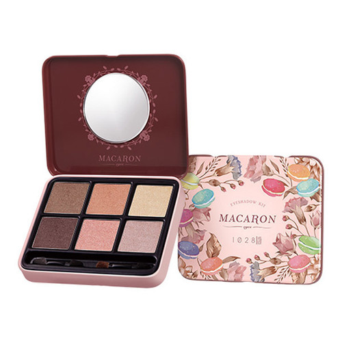 1028 Visual Therapy Macaron Eyeshadow Kit 2.1g x 6