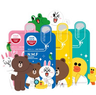 MEDIHEAL Line Friends Ampoule Facial Mask Sheet 10 Pcs