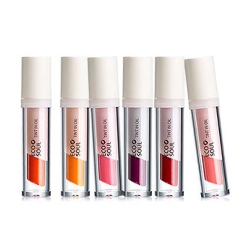 THE SAEM Eco Soul Tint In Oil Lip Gloss 4g