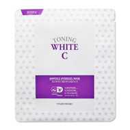 Etude House Toning White C Ampoule Hydrogel Mask 1 Pcs