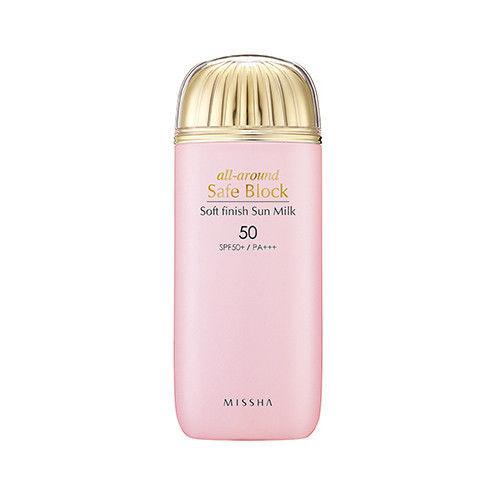 Missha All-Around Safe Block Soft Finish Sun Milk SPF50/PA+++ 70ml