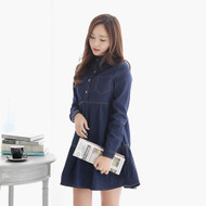 Simple Denim Dress