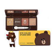 Missha Line Friends Eye Color Studio Mini