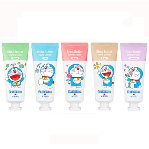 A'PIEU Shea Butter Hand Cream (Doraemon Edition) 35ml