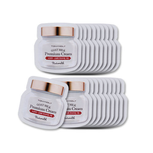 TONYMOLY Naturalth Goat Milk Premium Cream x 20Pcs